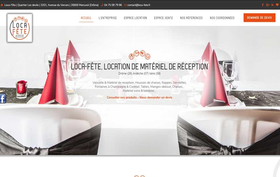 location materiel cuisine valence
